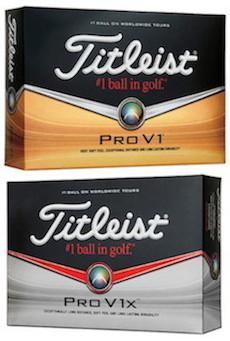 Titleist Pro V1 & Pro V1x