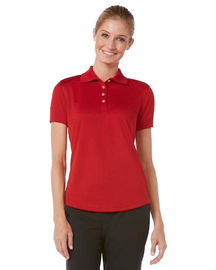 Callaway women 39 s core performance polo custom logo company for Custom company polo shirts